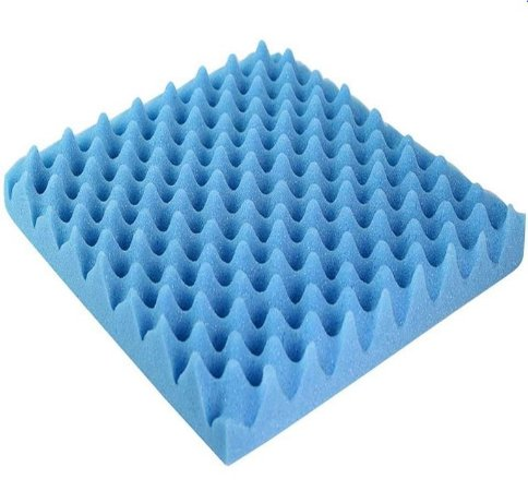 Almofada Caixa De Ovo Quadrada Sem Orifício Anti-escaras