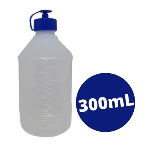 8 Frascos Para Dieta Enteral 300ml - Embramed
