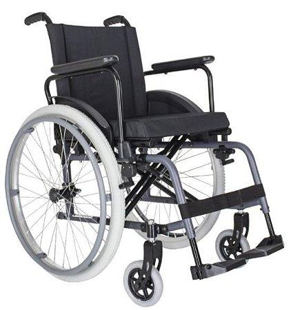 Cadeira de Rodas MA3F L48XP45XA45 - Preto Semi Brilho