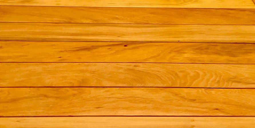 FORRO PEROBA MICA (14PÇS) 150cm comprimento x 1cm (Espessura) x 10 cm (Largura)- 2,10M2