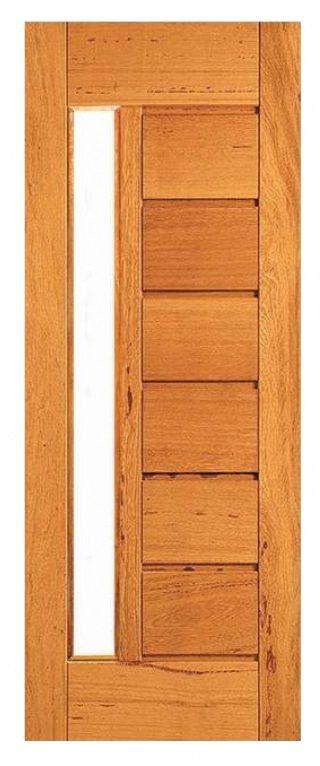 Porta Horizontal com Vitro Angelim Pedra- ETP 30
