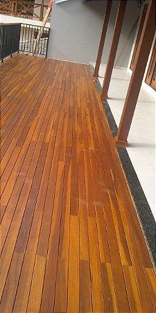 DUPLICADO - Deck IPE Rajado 10x2cm  m2