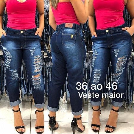 81b7c3a70 10 CALÇAS RASGADINHA. Lindo Jeans Design espetacular MÍNIMO 10 PEÇAS apenas  R$44,99
