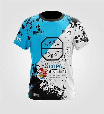 Camiseta Masculina | Foot Table Azul