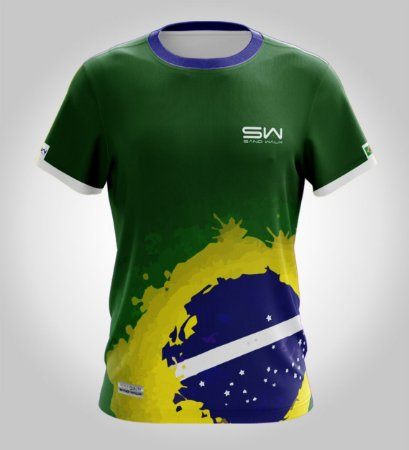 Camiseta Manga Curta   Masculina   Especial Olimpíadas