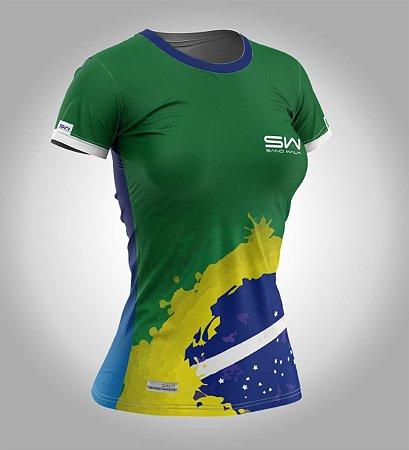 Camiseta Manga Curta | Feminina | Especial Olimpíadas