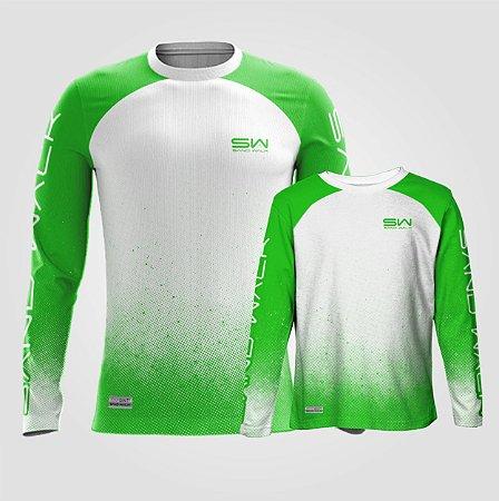 Camisa Manga Longa | Coleção Pai e Filho | Verde