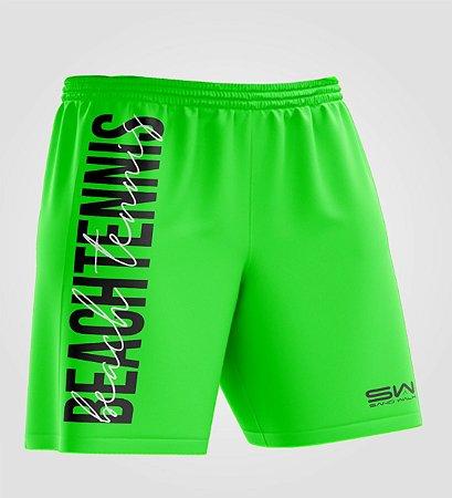 Bermuda Masculina   Beach Tennis   Colors   Verde