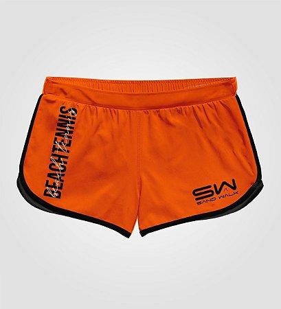 Shorts Feminino | Beach Tennis | Colors | Laranja