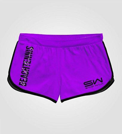 Shorts Feminino   Beach Tennis   Colors   Purple