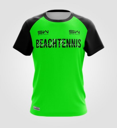 Camiseta Masculina   Beach Tennis   Colors   Verde