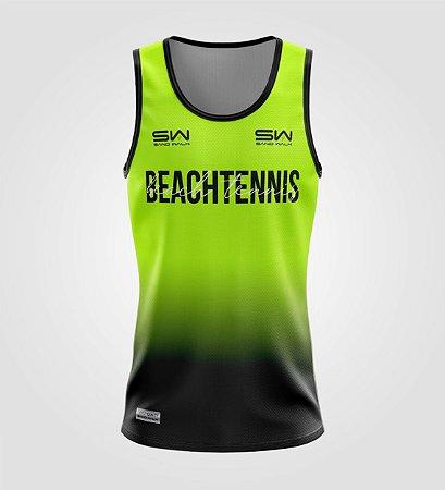 Regata Masculina   Beach Tennis   Colors   Flúor