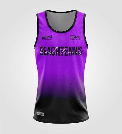 Regata Masculina | Beach Tennis | Colors | Purple