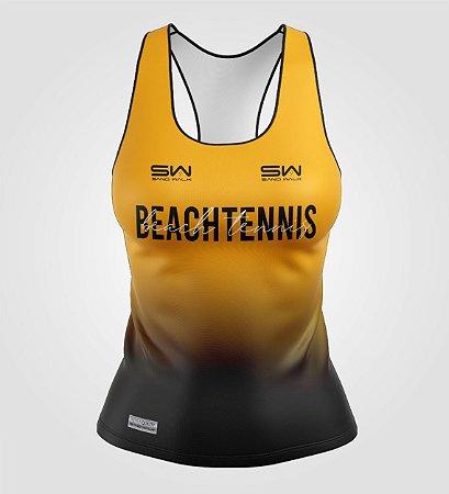 Regata Feminina | Beach Tennis | Colors | Mostarda
