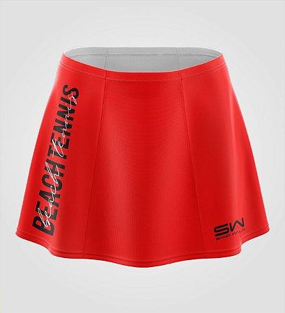 Shorts-Saia   Beach Tennis   Colors   Vermelha