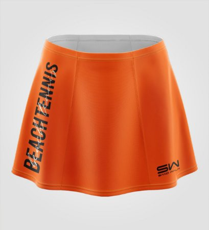 Shorts-Saia   Beach Tennis   Colors   Laranja