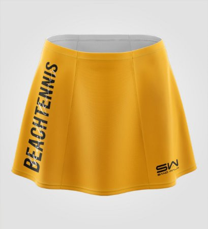 Shorts-Saia   Beach Tennis   Colors   Mostarda