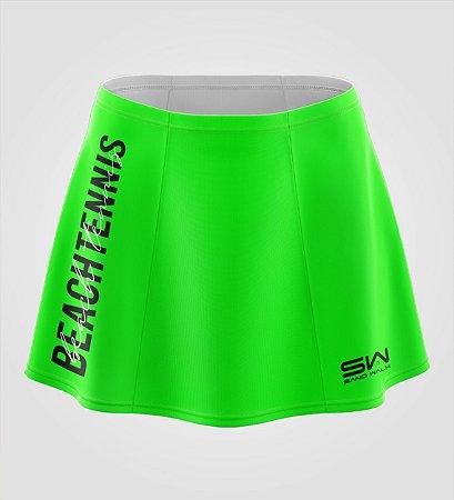 Shorts-Saia   Beach Tennis   Colors   Verde