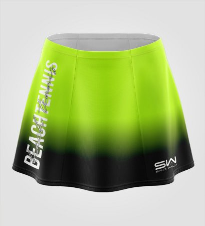 Shorts-Saia | Beach Tennis | Colors | Flúor e Preto