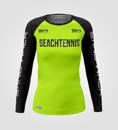 Camisa Manga Longa | Feminina | Beach Tennis | Colors | Flúor