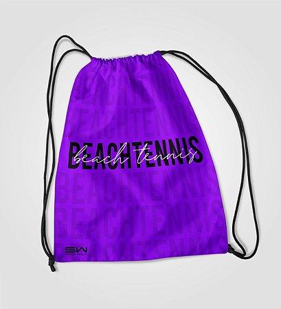 Sacola Treino   Beach Tennis   Purple