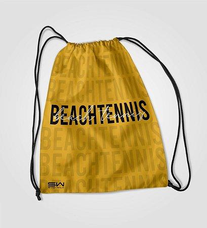 Sacola Treino   Beach Tennis   Mostarda