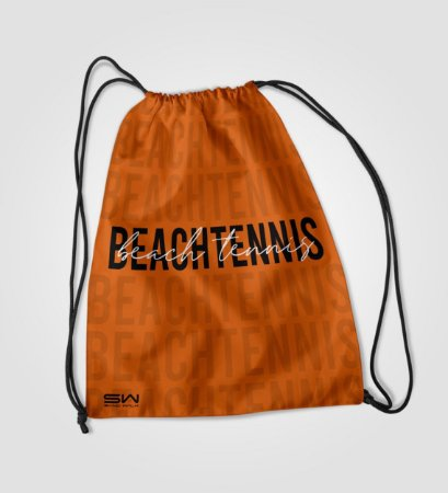 Sacola Treino | Beach Tennis | Laranja