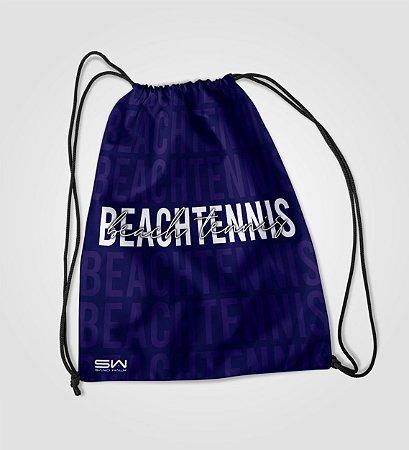 Sacola Treino   Beach Tennis   Marinho
