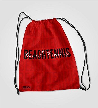 Sacola Treino   Beach Tennis   Vermelho