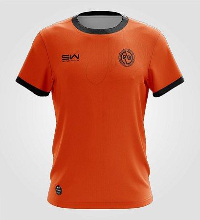 Camiseta Masculina   Coleção Renan Billy   Laranja