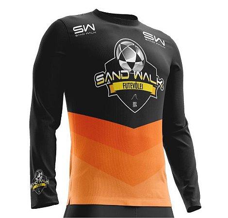 Camisa térmica |  Manga longa |laranja