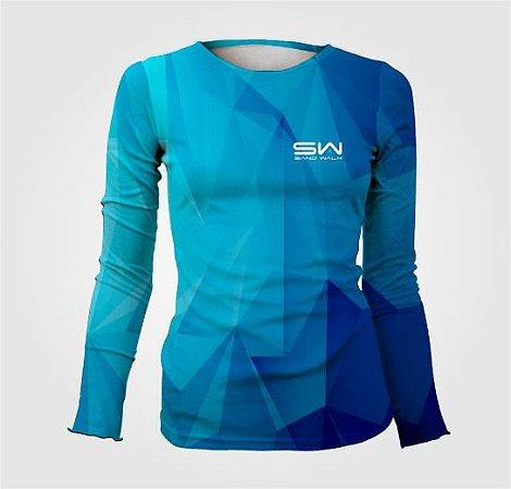 Camisa Térmica Feminina | Manga Longa | Geometric
