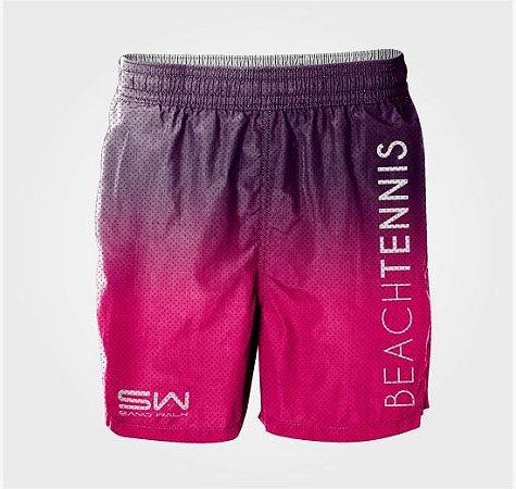 Bermuda Masculina | Beach Tennis | Pink