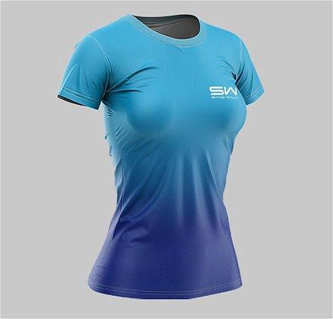 Camiseta Feminina | Beach Tennis | Azul
