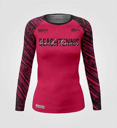 Camisa Térmica Feminina | Manga Longa | Beach Tennis | Coleção Revés