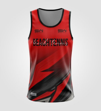 Regata Masculina   Beach Tennis   Coleção Lob