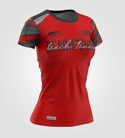 Camiseta Feminina | Beach Tennis | Coleção Lob