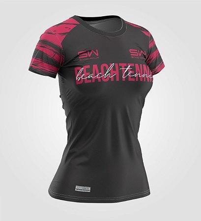 Camiseta Feminina | Beach Tennis | Coleção Smash