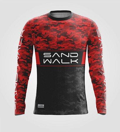 Camisa Térmica Masculina | Manga Longa | Warrior Red