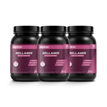 Bellamis Kit com 3 1000mg 90 Cápsulas