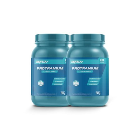 Kit com 2 Protfanium 30g 60 Cápsulas