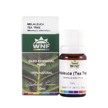 Óleo Essencial Melaleuca (Tea Tree) WNF - 10ml
