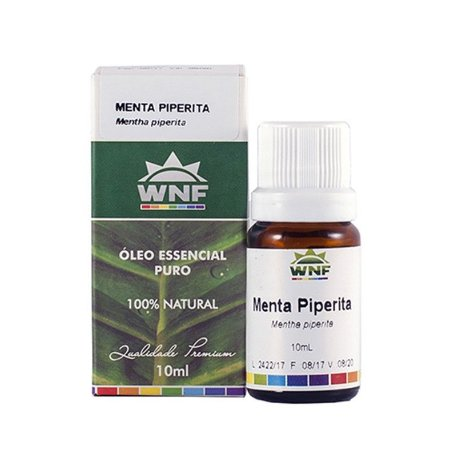 Óleo Essencial Menta Piperita WNF - 10ml