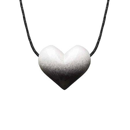 Aromatizador Pessoal - Coração - Black n' White