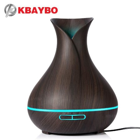 Difusor/Umidificador Ultrassônico Dark Wood - Kbaybo - 400ml