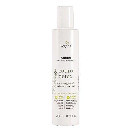 Xampu Couro Detox - Vegana WNF - 200ml