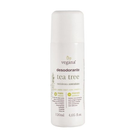 Desodorante Tea Tree - Vegana WNF - 120ml