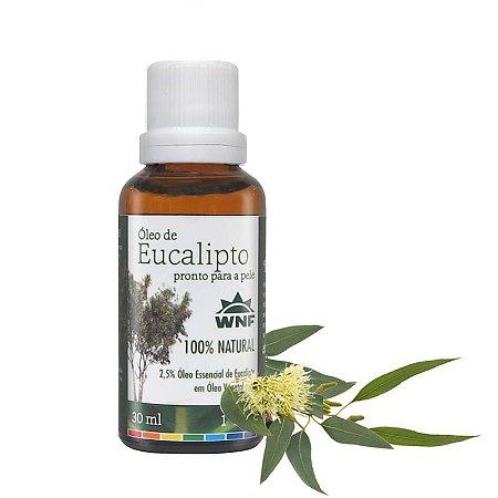 Óleo de Eucalipto pronto para pele – 30ml