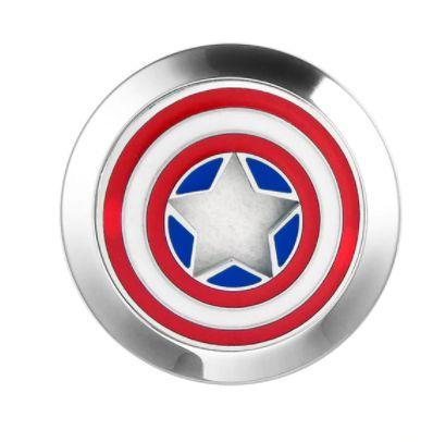 Pulseira Aromático  Ajustável de Silicone - Capitão América - Cor Azul