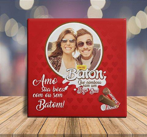 10dbd8c1149e02 Azulejo Chocolate Personalizado com Foto Presente namorado(a)